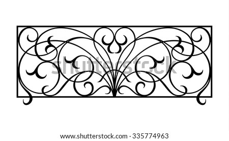 Wrought-iron Stock Images, Royalty-Free Images & Vectors