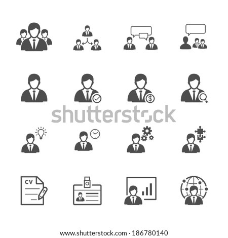 Recruitment Icon Stock Images, Royalty-Free Images