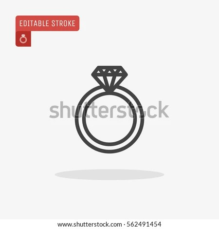 Diamond Ring Vector Stock Images RoyaltyFree Images