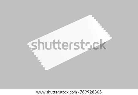 Event Ticket Movie Ticket Template On Stock Illustration 789928363 ...