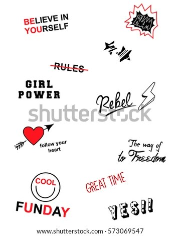 Slogan Stock Images, Royalty-Free Images & Vectors