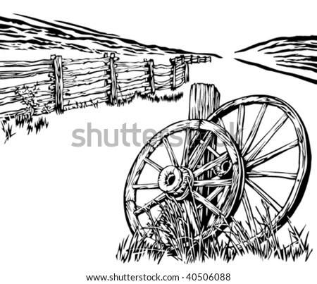 Wagon Wheel Stock Images, Royalty-Free Images & Vectors