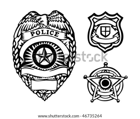 Law Enforcement Badge Stock Images, Royalty-Free Images