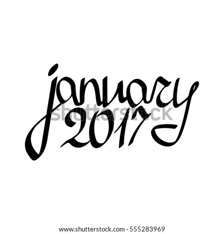 List of Synonyms and Antonyms of the Word: january word art