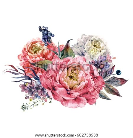 Watercolor Boho Wreath Made Meadow Wildflowers Stock Illustration 502438807 Shutterstock