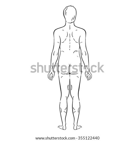 Fashion figure template Stock Photos, Images, & Pictures