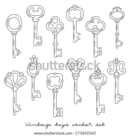 Old Fashioned Key Stock Images, Royalty-Free Images