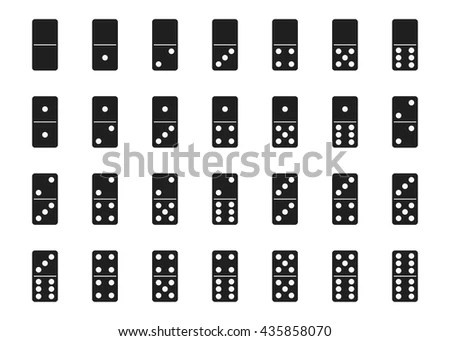 Domino Set Stock Images, Royalty-Free Images & Vectors