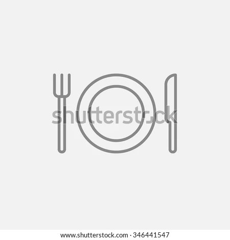 Dinnerware Icon Stock Images, Royalty-Free Images