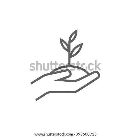 Hand Outline Stock Images, Royalty-Free Images & Vectors