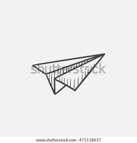 Airplane Outline Stock Images, Royalty-Free Images