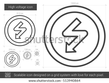 High Voltage Symbol Stock Photos, Royalty-Free Images