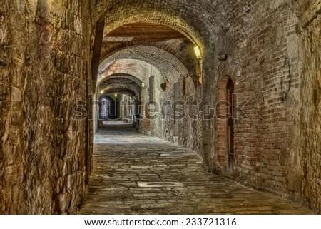 Colle Di Val Delsa Siena Tuscany Stock Photo 233721316