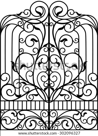 Window Grill Stock Images, Royalty-Free Images & Vectors