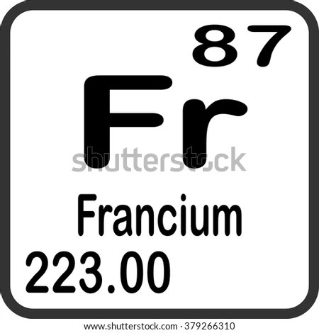 Francium Stock Images, Royalty-Free Images & Vectors