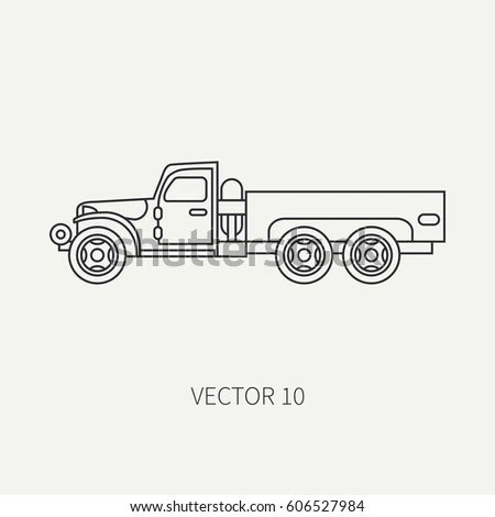 Vintage Military Truck Stock Images, Royalty-Free Images