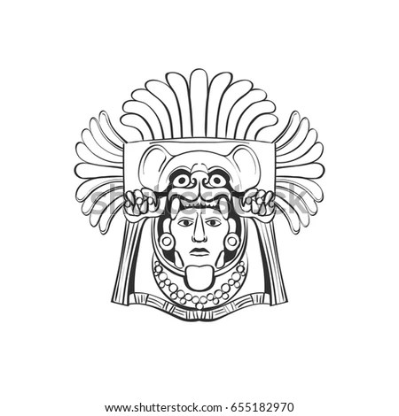 Aztec Headdress Stock Images, Royalty-Free Images