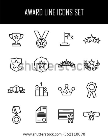 Achievement Icon Stock Images, Royalty-Free Images