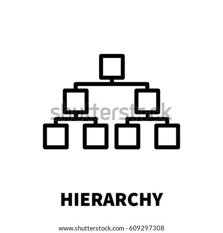 Hierarchy Icon Stock Images, Royalty-Free Images & Vectors