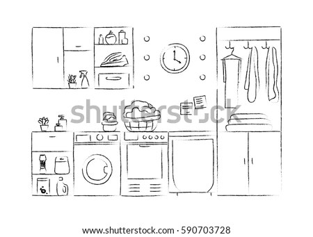Wash Drawing Stock Images, Royalty-Free Images & Vectors