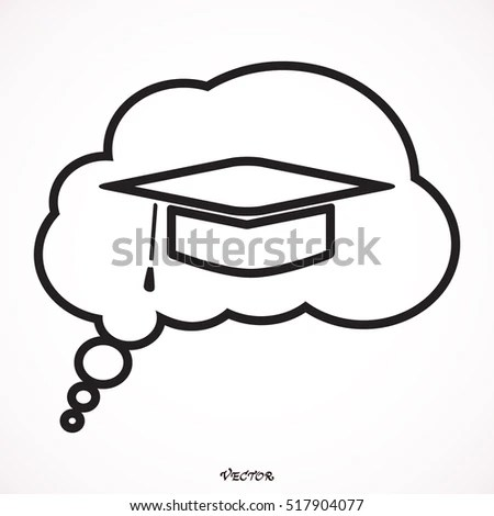 Graduation Cap Cartoon Stock Images, Royalty-Free Images