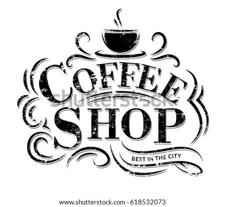 Coffee Logo Coffee Logo Stock Vector Royalty Free