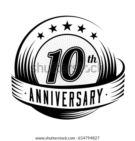 Anniversary Ribbon Stock Images, Royalty-Free Images