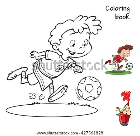 Cartoon Football Player Stock Images, Royalty-Free Images