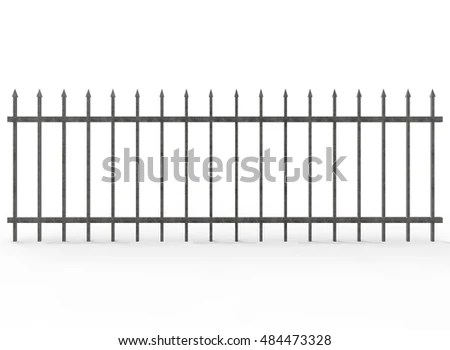 Metal Fence Stock Images, Royalty-Free Images & Vectors