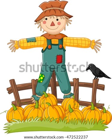 scarecrow stock royalty-free
