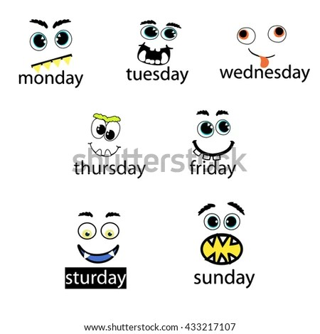 Weekdays Stock Images, Royalty-Free Images & Vectors