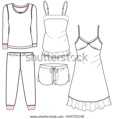 Sleepwear Stock Photos, Royalty-Free Images & Vectors