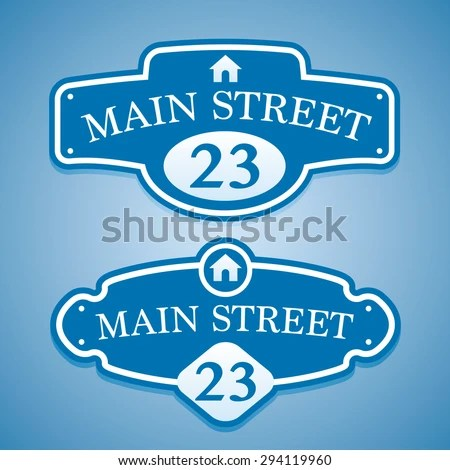 Street Name Sign Stock Images Royalty Free Images