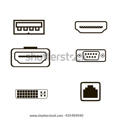 Ethernet Port Stock Images, Royalty-Free Images & Vectors