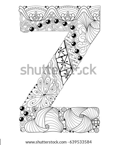 Floral Initial Capital Letter T Stock Vector 139671046