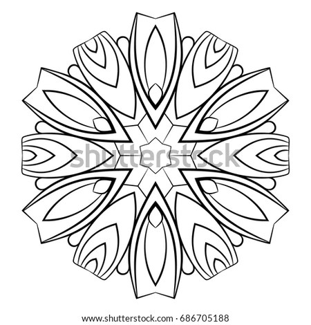 Kaleidoscopic Sunflower Stock Images, Royalty-Free Images
