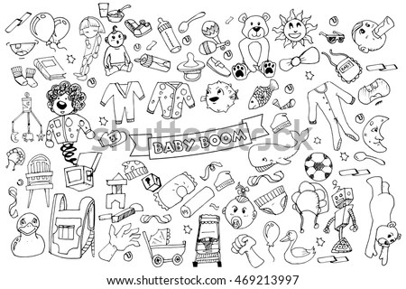 Baby Items Stock Images, Royalty-Free Images & Vectors
