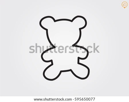 Bear Silhouette Stock Images, Royalty-Free Images