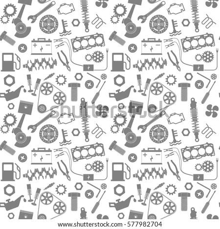 Doodle Robot Element Illustrator Line Tools Stock Vector