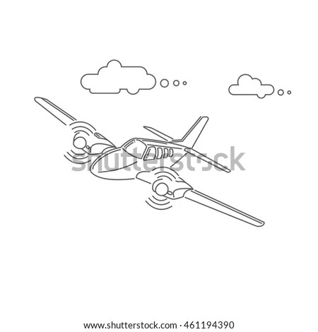 Small Plane Stock Photos, Royalty-Free Images & Vectors