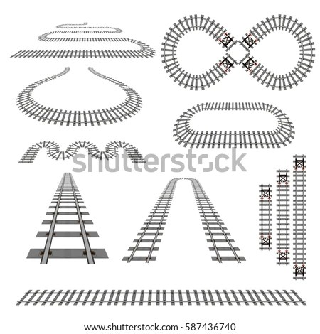 Railroad Stock Images, Royalty-Free Images & Vectors