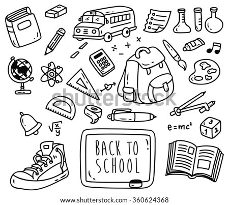 School Doodles Stock Images, Royalty-Free Images & Vectors