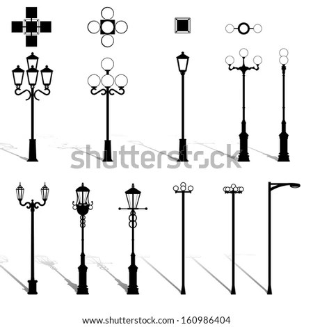 Modern Lightning Standing Chandelier Table Wall Stock