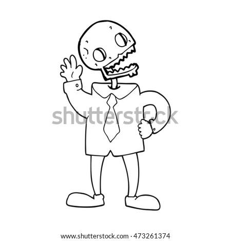 Man Scan His Head Xray Technology Stock Vector 105506777