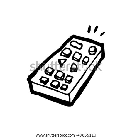 Cartoon Remote Control Stock Images, Royalty-Free Images