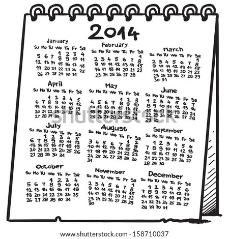 Calendar Drawing Stock Images, Royalty-Free Images