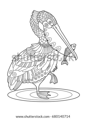 Pelican Tattoo Stock Images, Royalty-Free Images & Vectors
