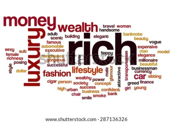 Image result for word RICH