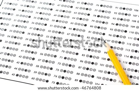 Multiple Choice Test Stock Photos, Images, & Pictures