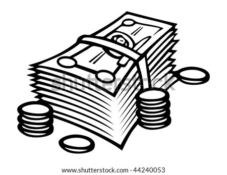 Coin Drawing Stock Images, Royalty-Free Images & Vectors